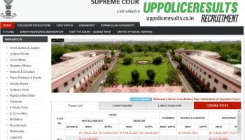 Supreme Court Recruitment 2021 for Junior Translator Posts,Apply Online