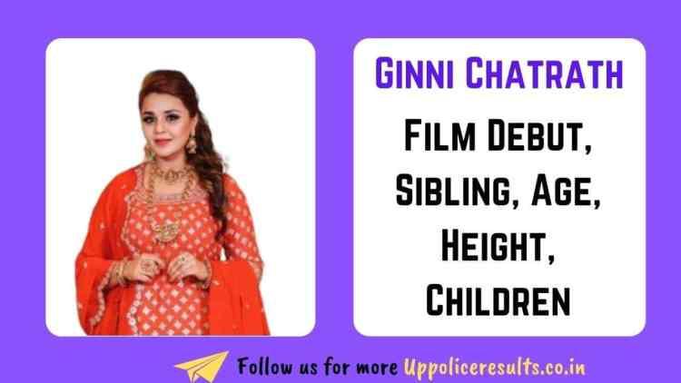 Ginni Chatrath Hindi Biodata