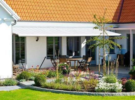 Terrassmarkis Family Design - En markis för terrasser, altaner och balkonger