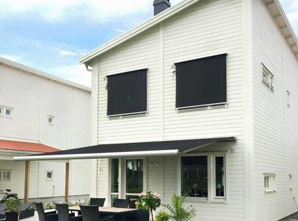 Fönstermarkis Ventura - Ventura är en markis i form av en rullgardin för fönster