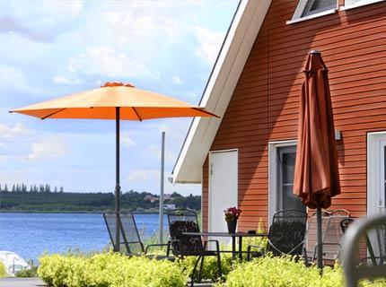 Parasoll för terasser och uteplatser i Uppsala