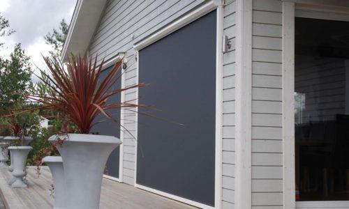Solid Screen zip-screen - en vertikal fönstermarkis