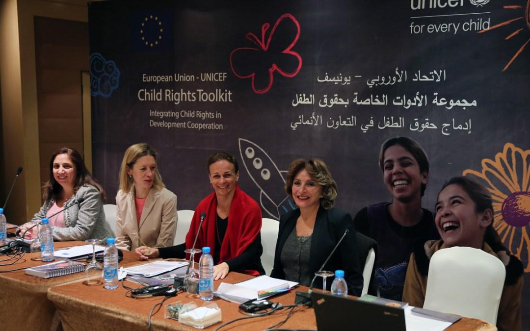 الاتحاد الأوروبي واليونيسف يطلقان مجموعة أدوات حقوق الطفل في لبنان