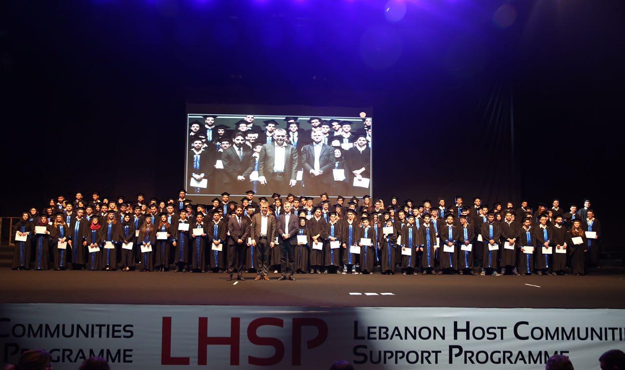 """مشروع """"دعم توظيف الشباب"""" في إطار مواجهة تداعيات الأزمة السورية وتدفق النازحين إلى لبنان"""
