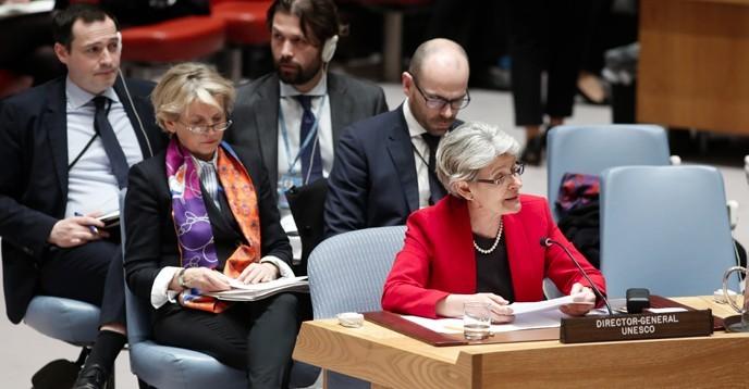 مجلس الأمن الدولي يعتمد قراراً تاريخيّاً بشأن حماية التراث