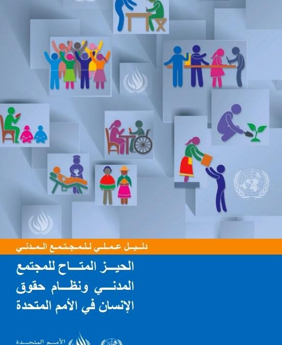 الحيـــز المتـــاح للمجتمع المدنـــي ونظـــام حقوق الإنسان في الأمم المتحدة