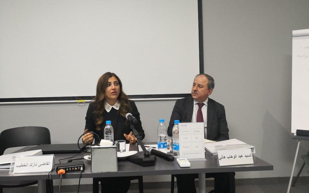 أربع أوراق تعالج التوصيات الأربع التي حددتها اللجنة الدولية لمناهضة التعذيب