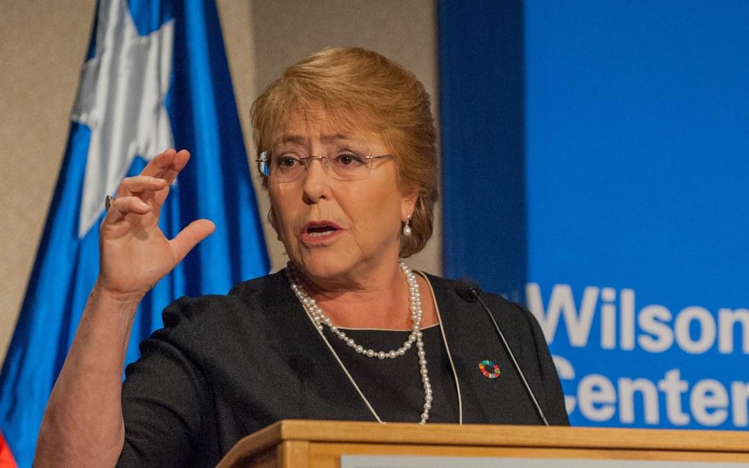 تعيين ميشيل باشيليت الرئيسة السابقة لتشيلي مفوّضة سامية لحقوق الإنسان