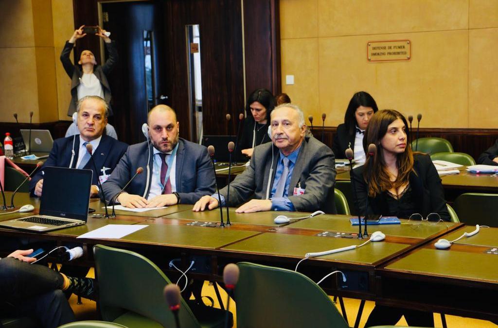الهيئة الوطنية اللبنانية تشارك في أعمال المؤتمر الـ 32 للتحالف العالمي للمؤسسات الوطنية لحقوق الإنسان بجنيف