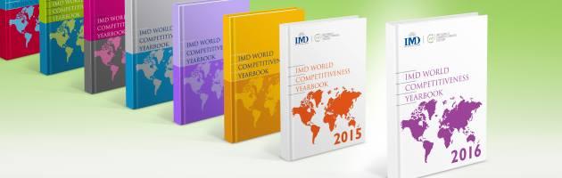 Classement mondial de la compétitivité de 61 pays du monde est publié chaque année par l'IMD