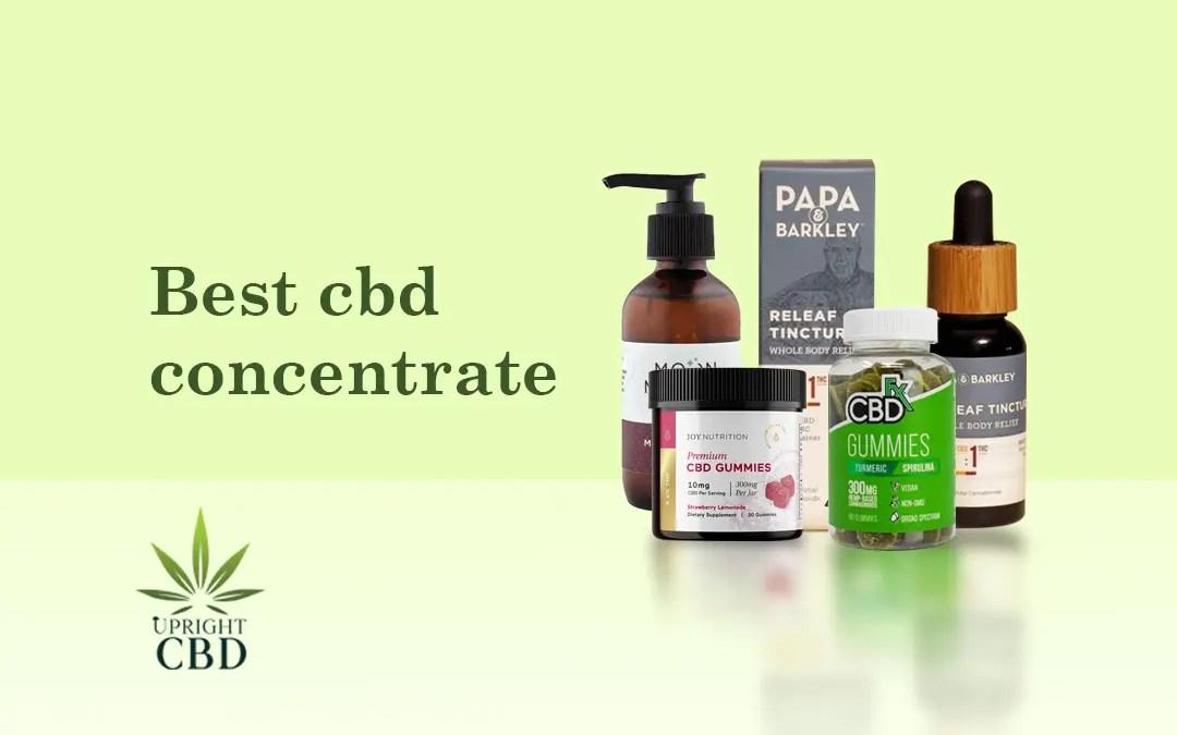 Best CBD Concentrate