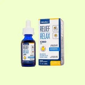 Relief Relaf CBD by CBDitillery
