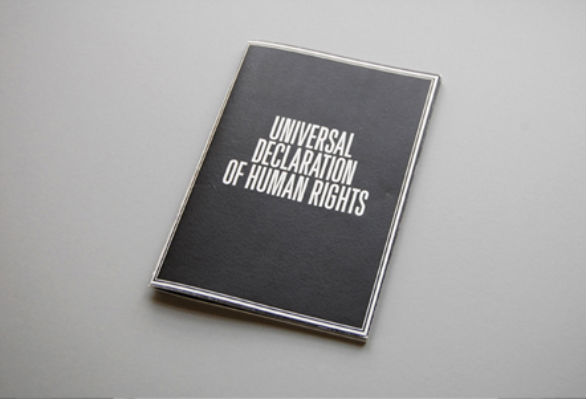 Promotional Booklet Designs - Universal Declaration