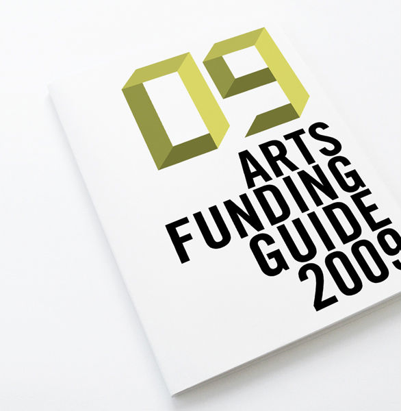 Promotional Booklet Designs - Arts Funding Guide