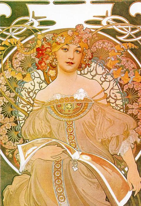 Art Nouveau Poster - Mucha1