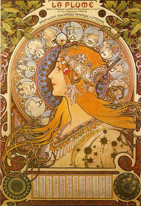 Art Nouveau Poster - mucha3
