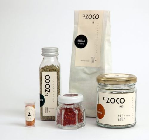El Zoco Jar Label