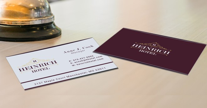 uncoated business card stock