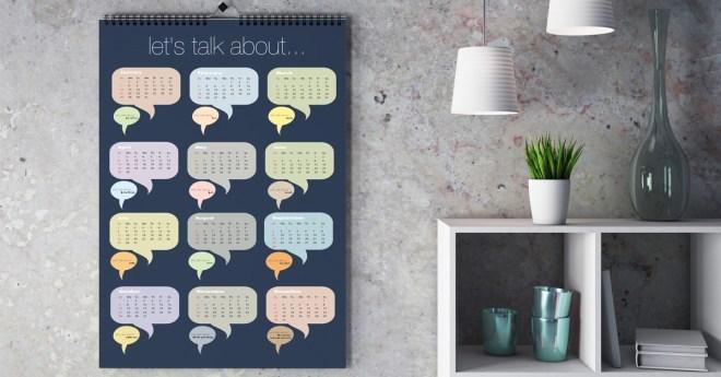 55 Unique calendar designs