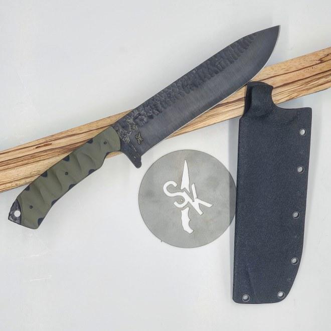 BK1 knife Stroup Knives