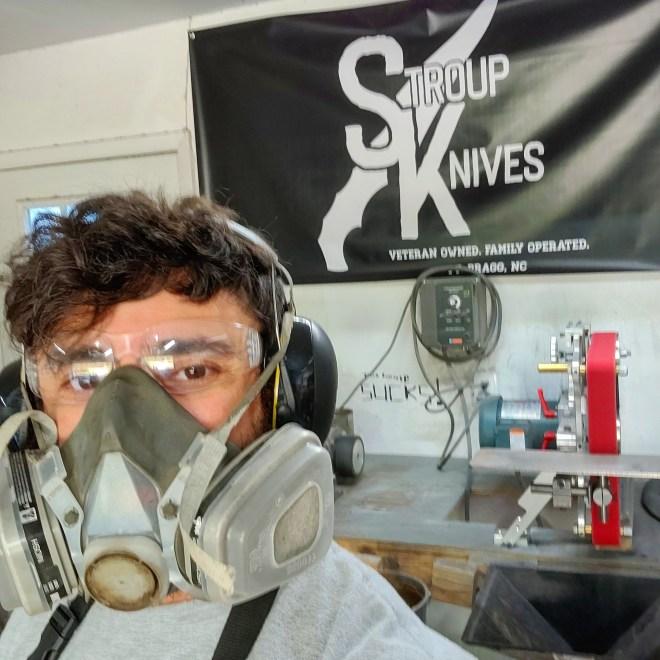 Stroup Knives custom banner