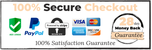 28 Day 100% Secure Checkout