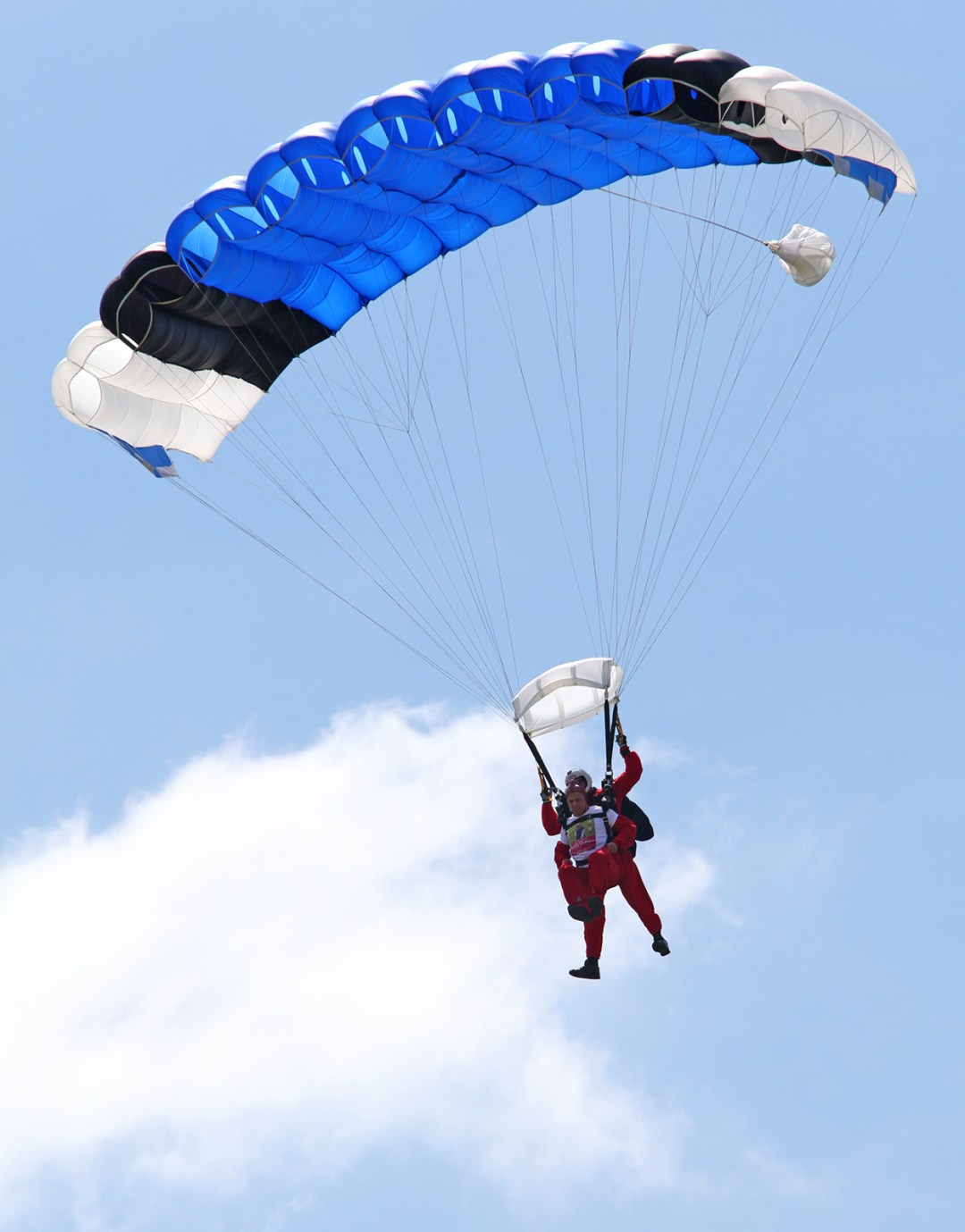Sky Diver raising funds for Ups and Downs Southwest