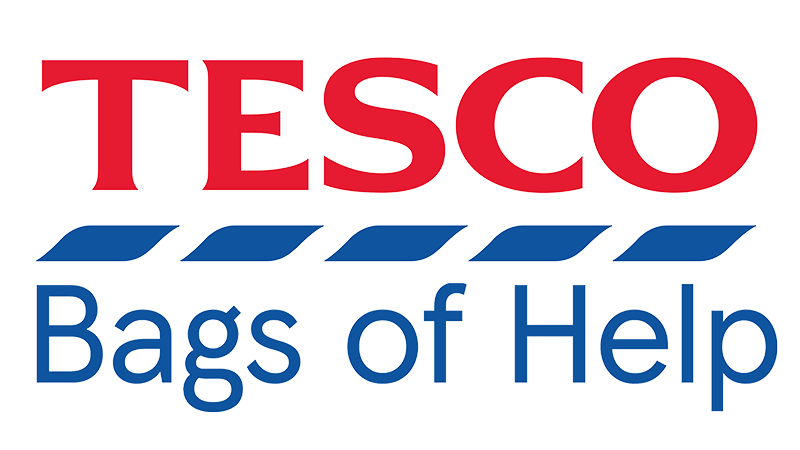 Kilve Court Activity Day for Ups and Downs Southwest - Tesco Bags of Help Logo