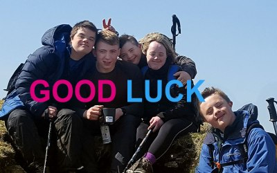 Good Luck -Ten Tors Jubilee Challenge