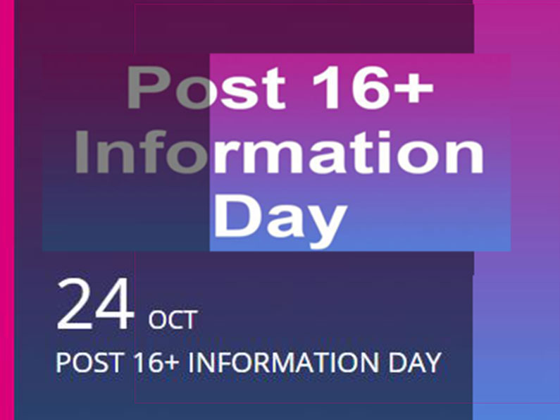 Post 16 plus information Event