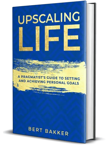 Upscaling Life Book Cover 3D extra small