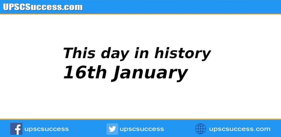 16th January