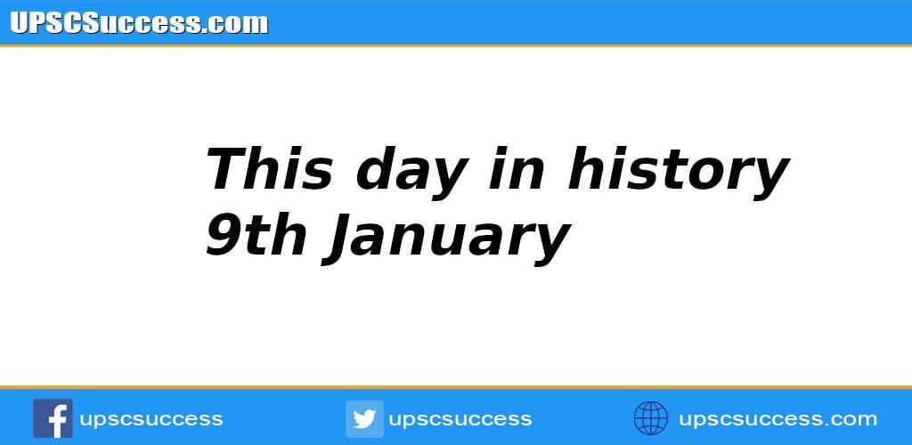 9th January