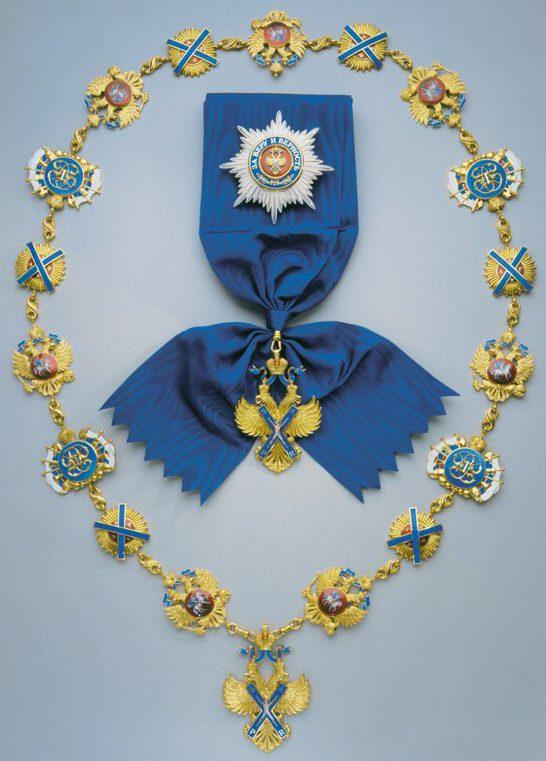 Order of St. Andrew award