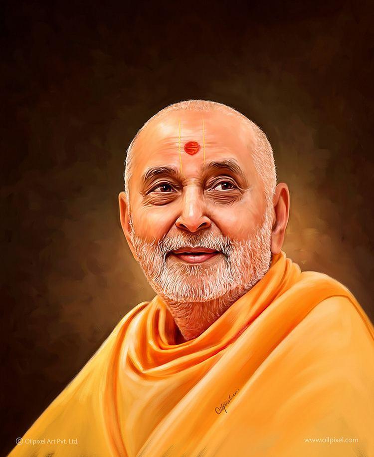 Pramukh-Swami-Maharaj-Indian-guru-and-scholar
