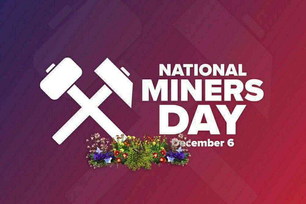 National Miners Day