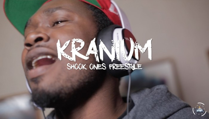 kranium - shook ones freestyle