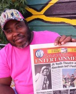 Upsetta Records Front Page of Jamaica Gleaner