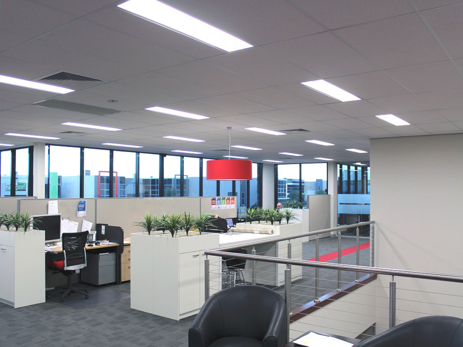 best color temperature for office