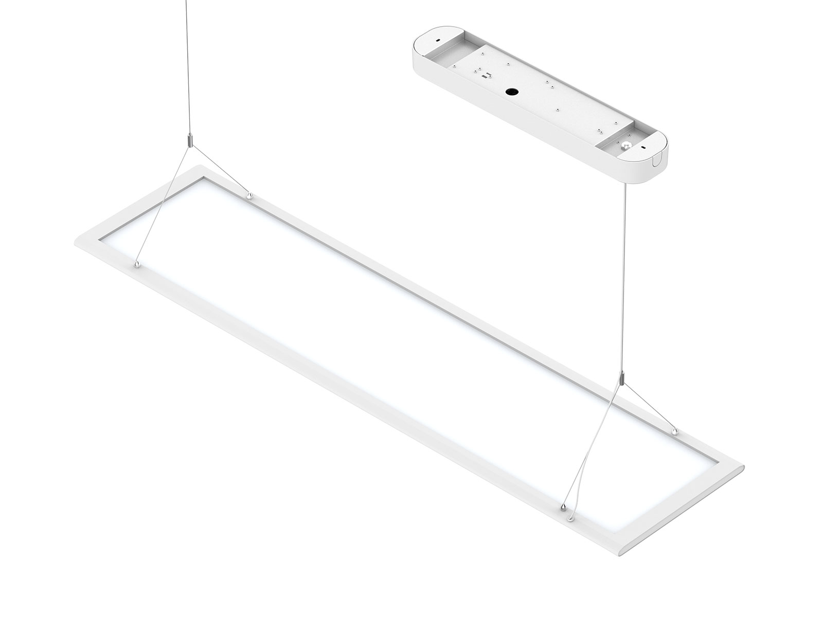 Pl Db Anti Glare And Double Side Panel Lamp