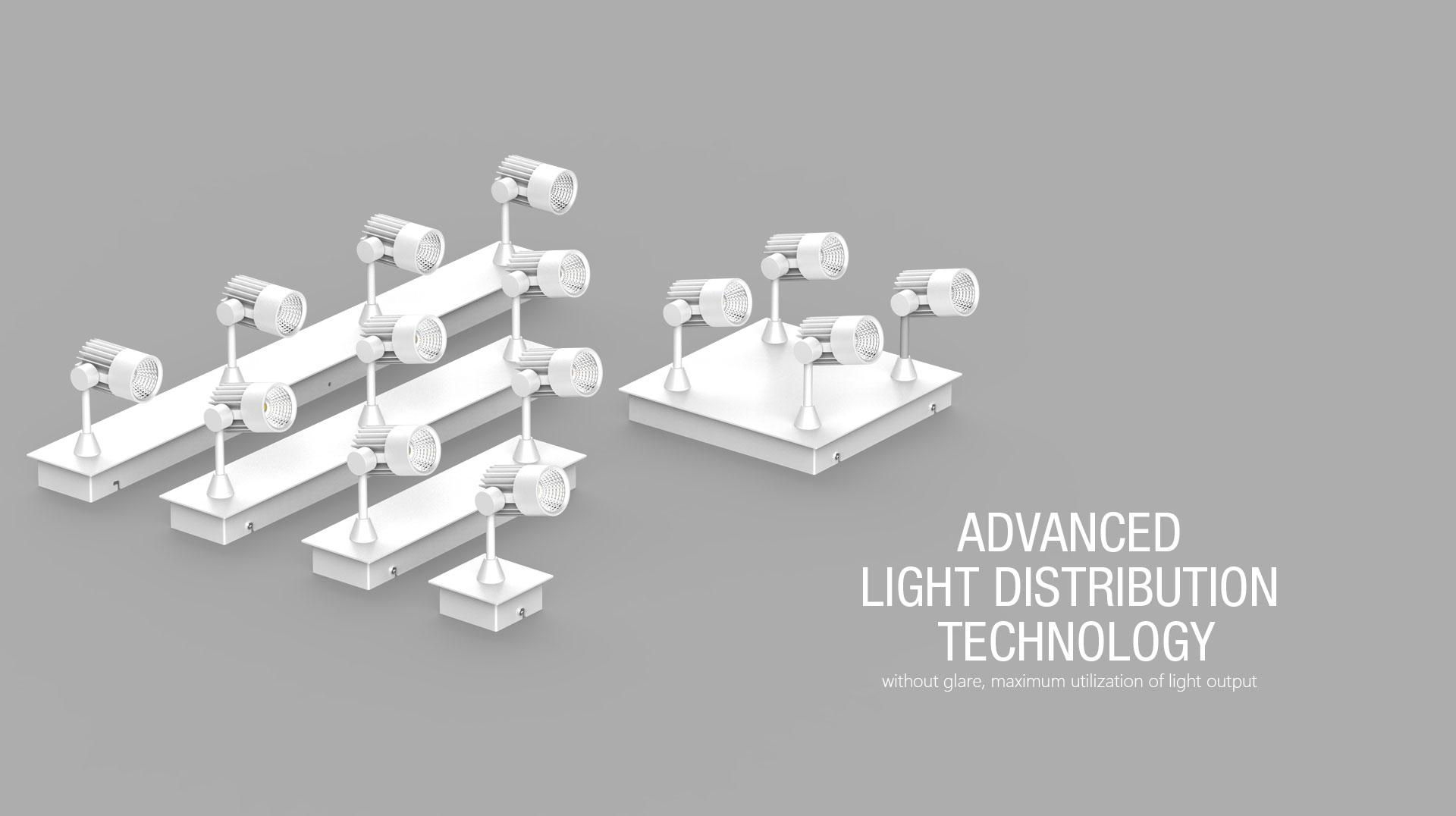 Tl04 B Recessed Led Track Light Kits