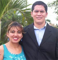 Rosa and Dorian Bonilla