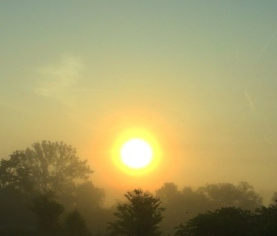 A Misty Sunrise