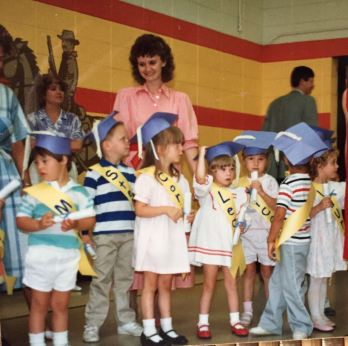 The story of Mark and Leah begins in preschool, where they met when they were 5 and 6 years old.