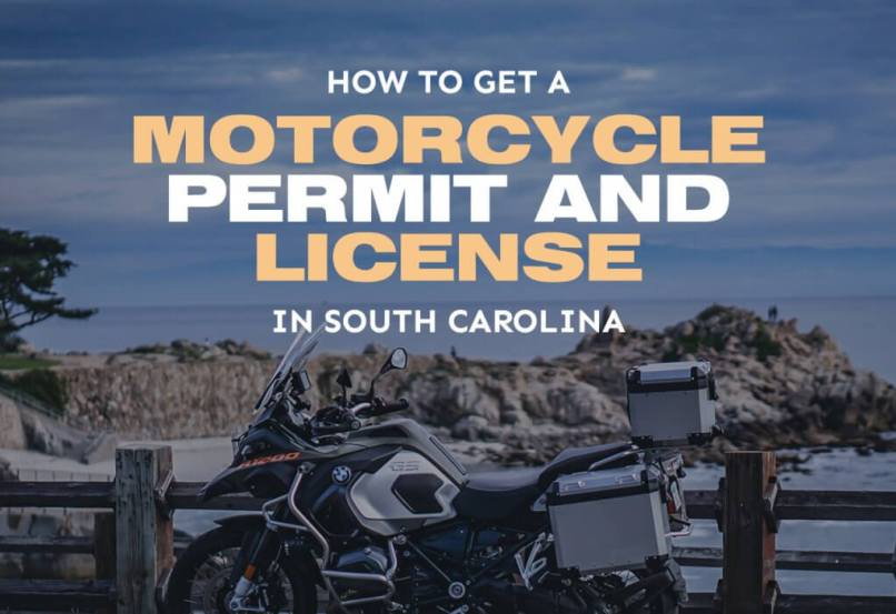 A Motorcycle Permit License In