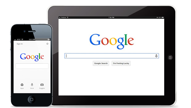 Example of Multi-device Consistent Experience - Google Search