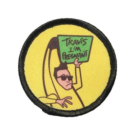 Mark Hoppus Banana Pin – blink-182 Patch
