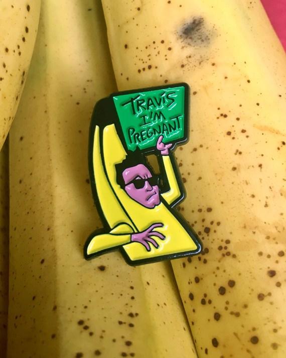 Mark Hoppus Banana Pin