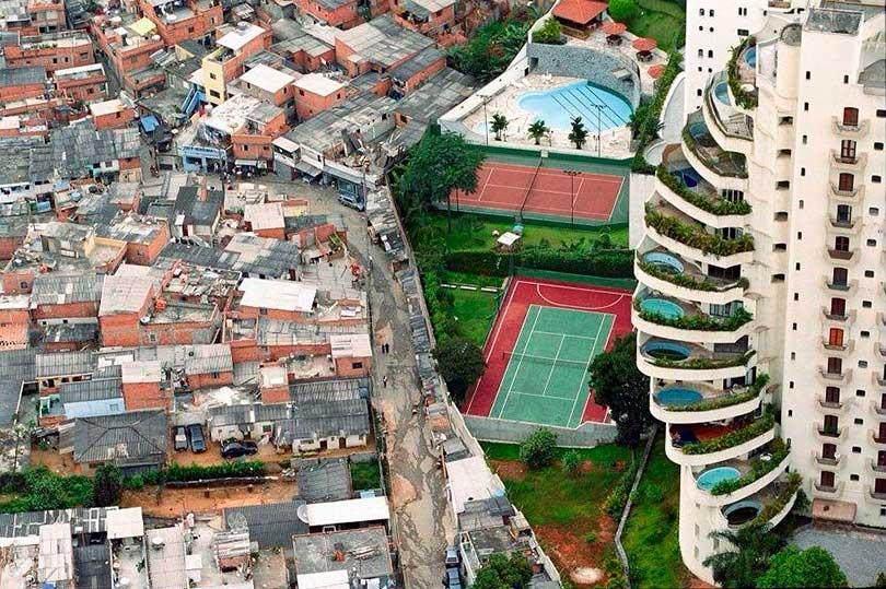 Resultado de imagen para pobreza contra riqueza