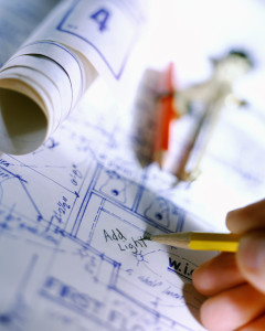 Real estate construction home property inspection.